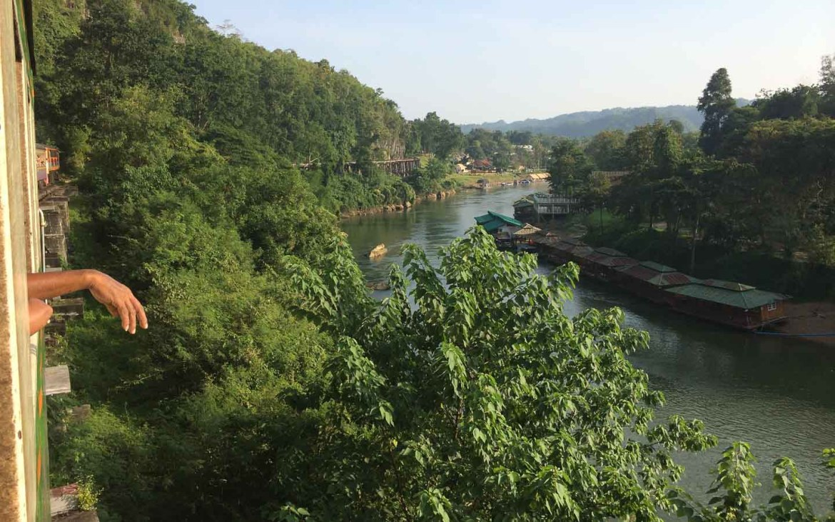 Take the Train to Kanchanaburi - Awesome things to do in Thailand