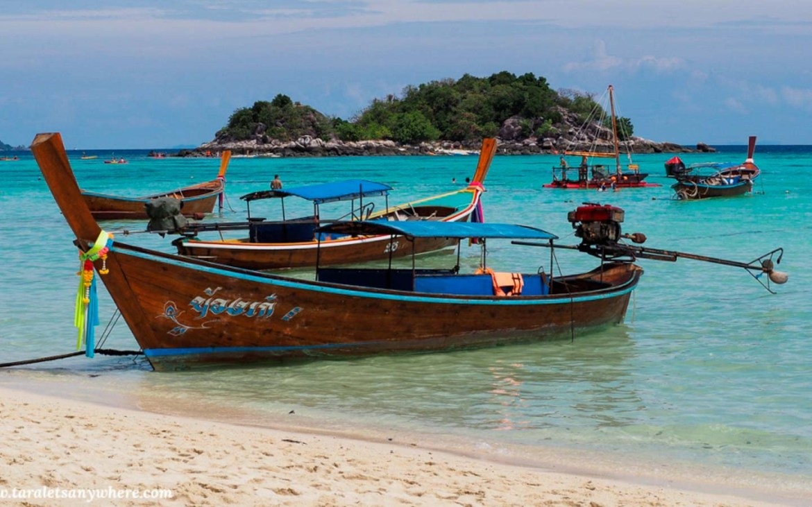 Sunrise beach in Koh Lipe - Awesome things to do in Thailand