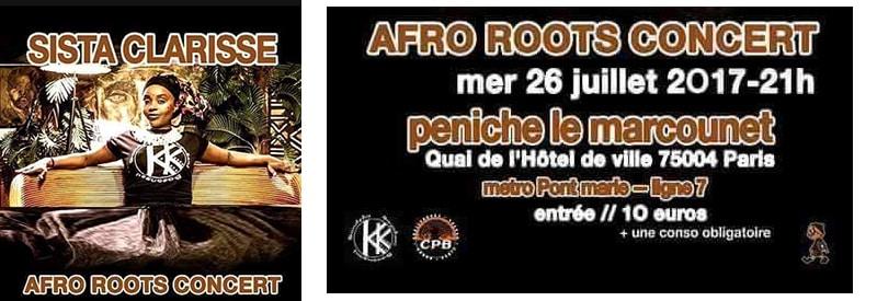 Protégé: Concert Afro Roots Sista Clarisse