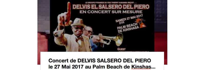 Protégé: Concert Delvis Salsero Del Piero, le samedi 27 mai 2017