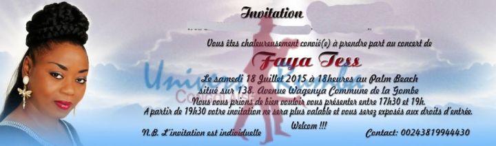 INVITATION FAYA  TESS KIN VERSO bne5
