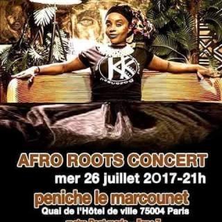Sista Clarisse Afro Roots Concert le mercredi 26 juillet 2017