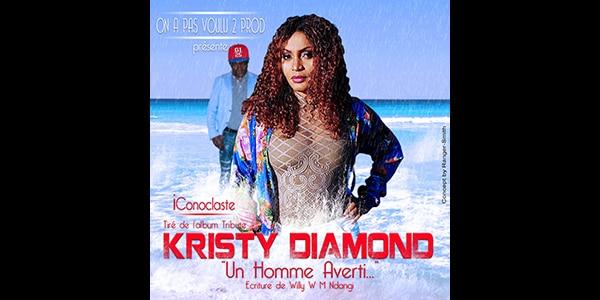 SINGLE de Kristy Diamond : «iConoclaste» 2ème titre tiré de l'album tribute «Un Homme Averti»