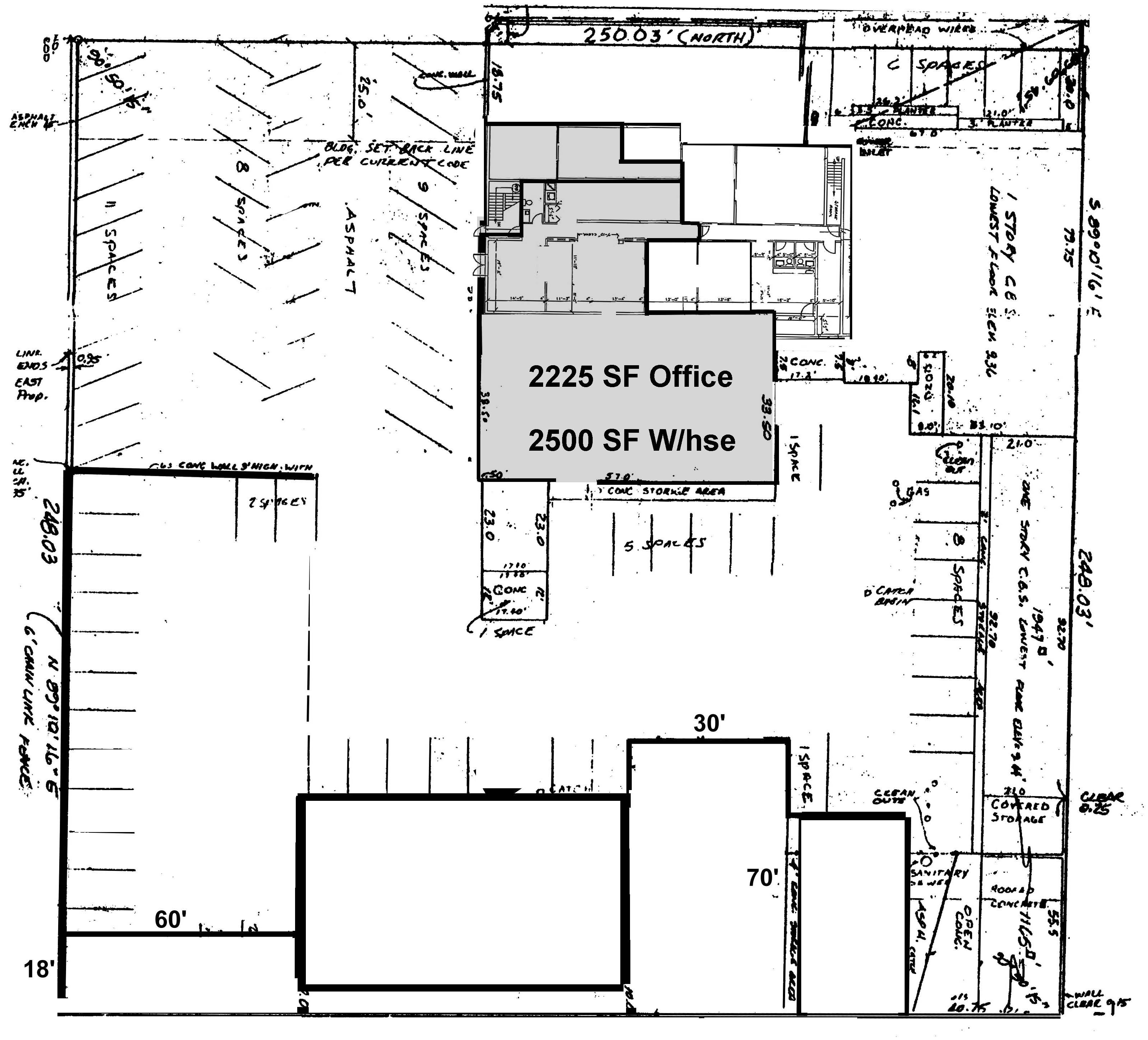 Square Feet Of Office And Square Feet Of