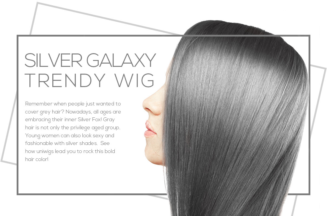 Shop Grey Wigs Trend Wigs At