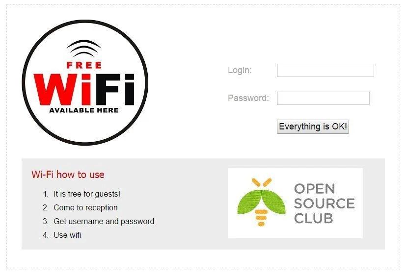 Wifi-captive-portal