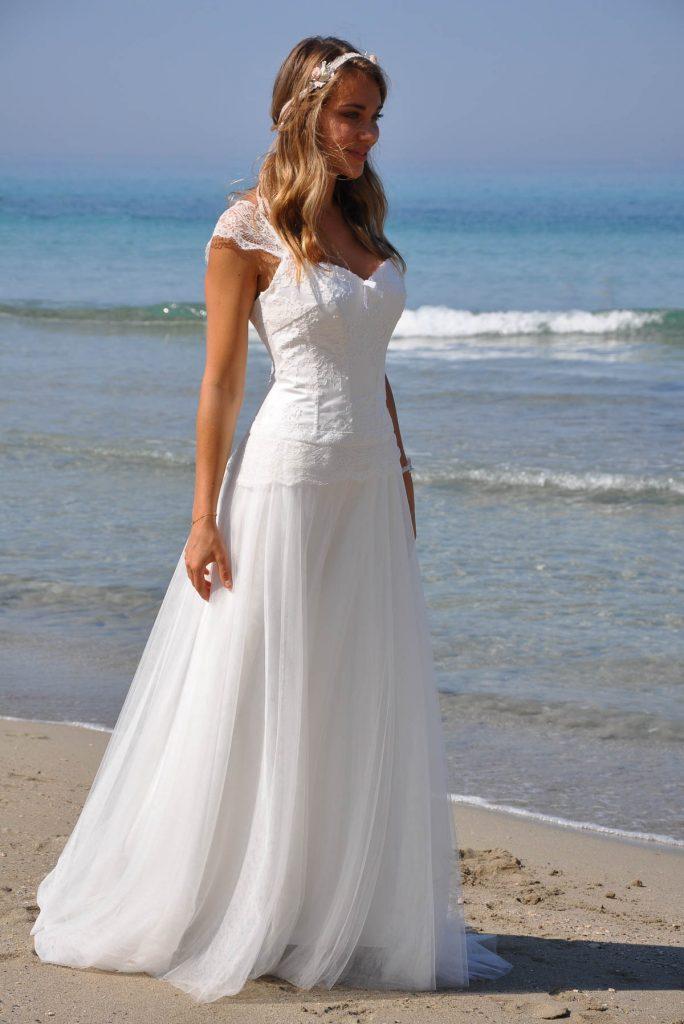 robes de marie bohme et dentelle de Calais pour un mariage champtre Archives  Un jour une