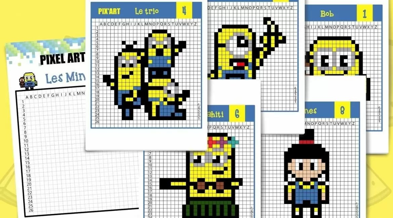 Smartactivity Le Pixel Art
