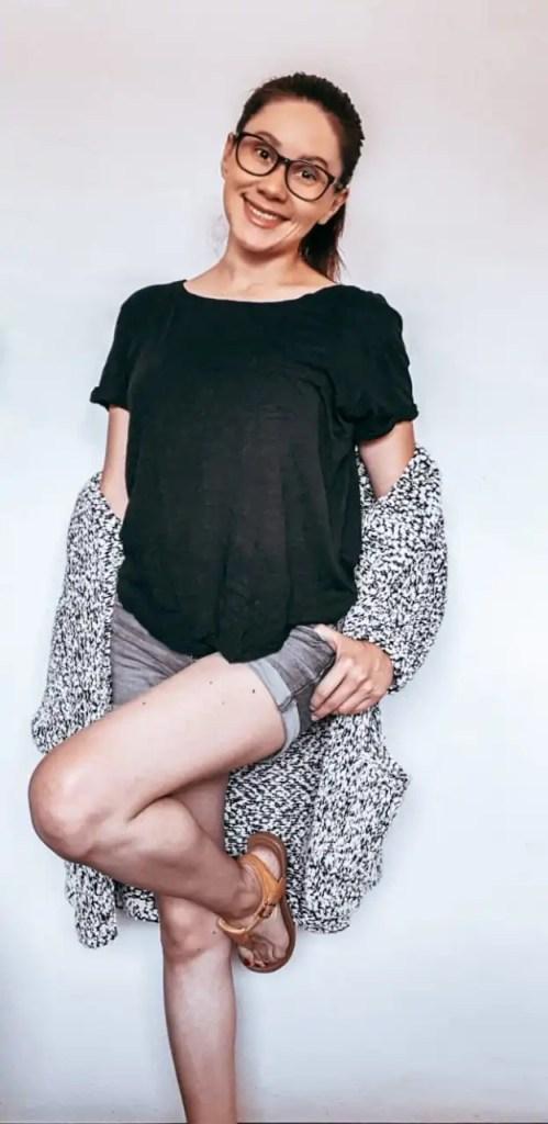 shorts y negro unkato.com