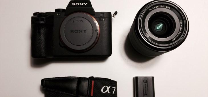 Min historie med Ebay og et Sony A7ii