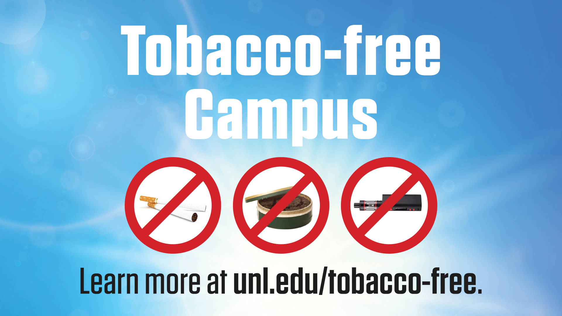 Tobacco Free In