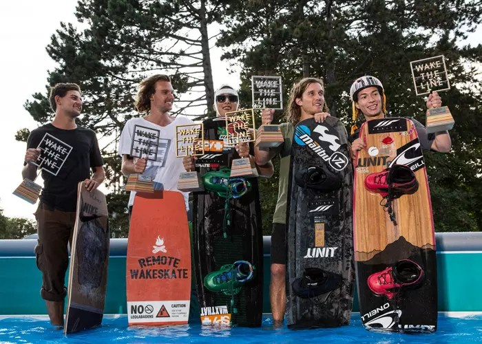 Wake the line 16 podiums