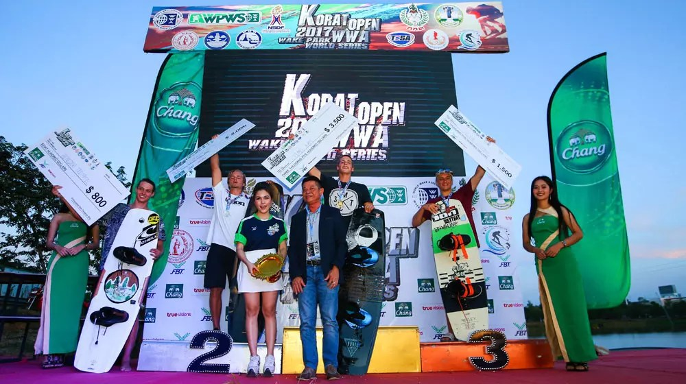 WWA WAKE PARK WORLD SERIES PODIUMS TWP KORAT 1