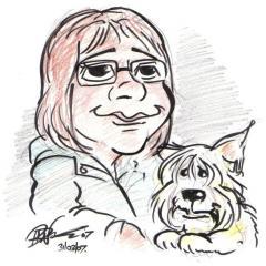 Daryl's Art – Self-Caricature