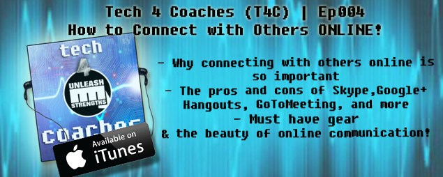 How to Connect with Others Online (Podcast)
