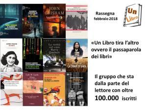 Rassegna mensile dei libri più letti e commentati a febbraio 2018 Un Libro
