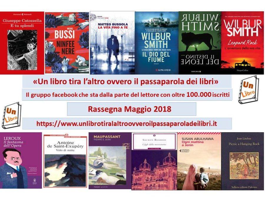 Rassegna mensile dei libri più letti e commentati – maggio 2018 – anno II n. 5