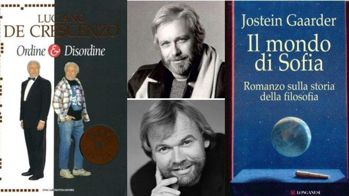 Due autori a confronto Jostein gaarder Luciano De Crescenzo recensioni Libri e news Unlibro
