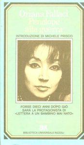 PENELOPE ALLA GUERRA Oriana Fallaci Recensioni Libri e News UnLibro