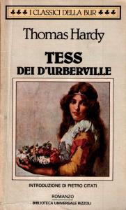 TESS DEI D'URBERVILLE Thomas Hardy recensioni Libri e News