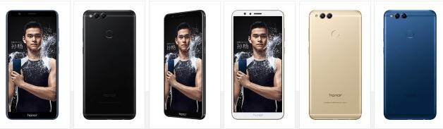 الإعلان رسميًا عن هاتف هواوي Honor 7X مع شاشة بأبعاد 18:9