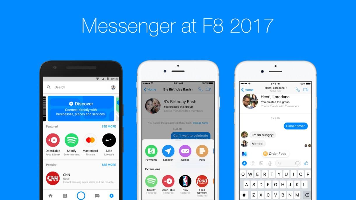 facebook messenger f8