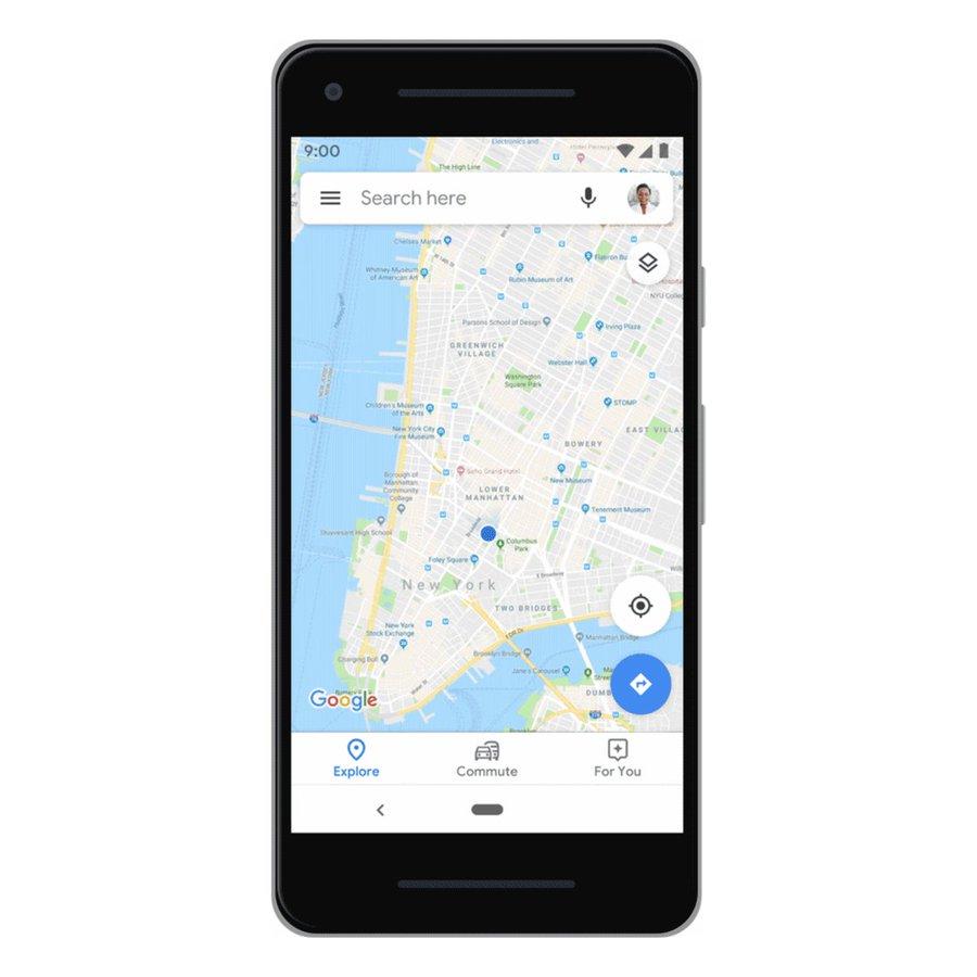 google Map Incognito Mode