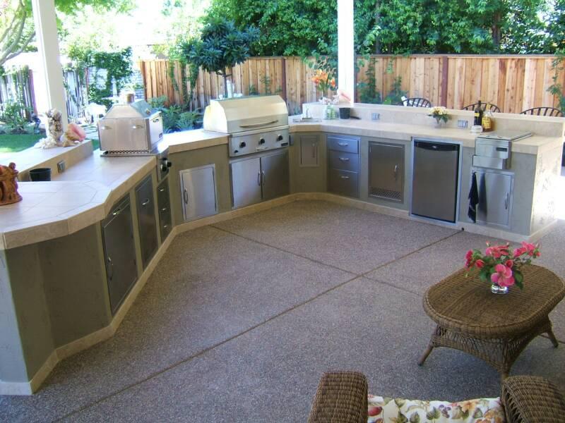 Barbecue Island Design and Installation in San Jose CA