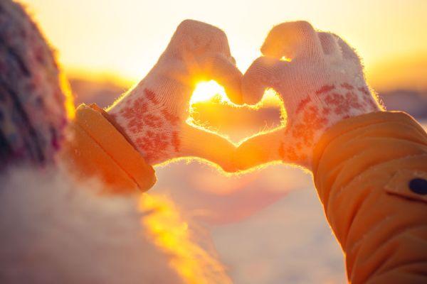 Magnifiek Liefde kun je alleen voelen in jouw hart, vanuit een open hart #NR27