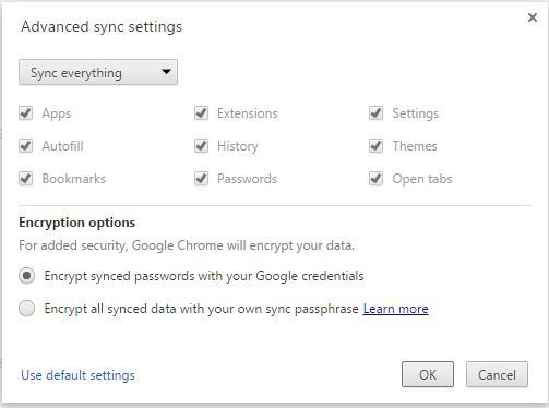 Access Google Chrome passwords