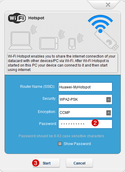 WiFi-Hotspot-setup