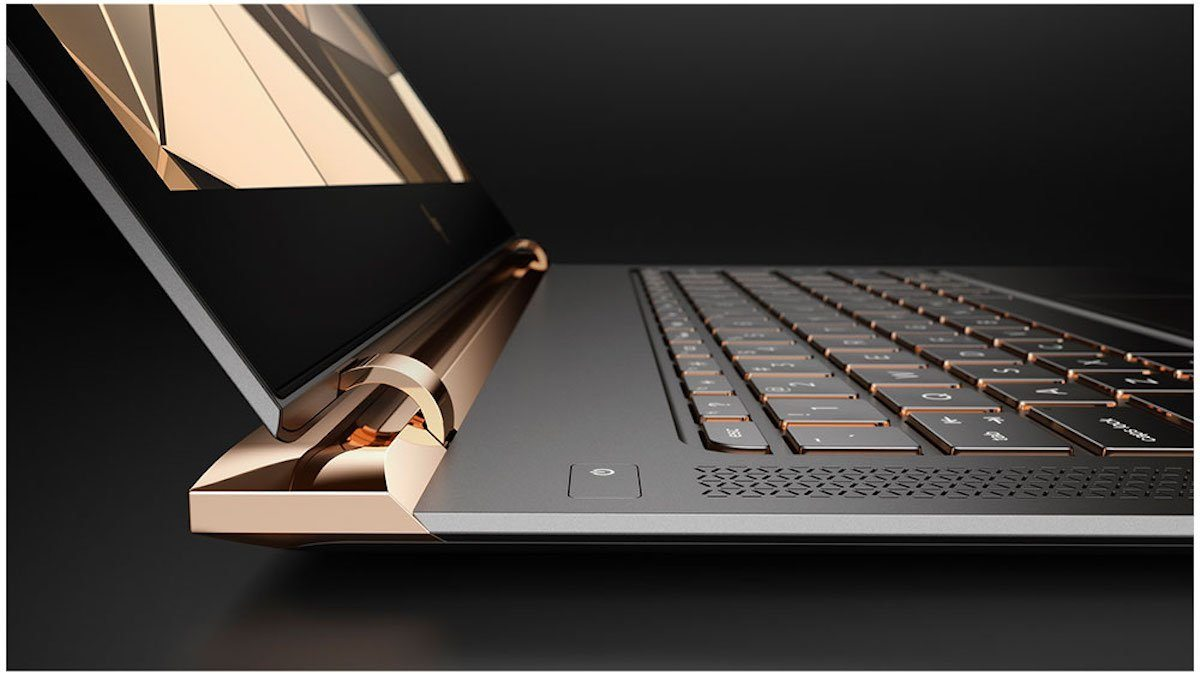 "So far, it only comes in the copper/gold color option. HP says it uses the color scheme for ""warmth"" and to make it feel like a piece of jewelry."
