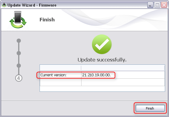 Huawei E5330Bs-2 firmware flashing is complete
