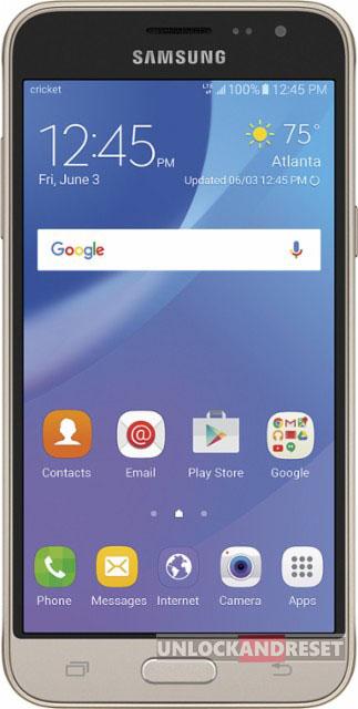 Samsung Galaxy Sol hard reset SM-J321AZDZAIO