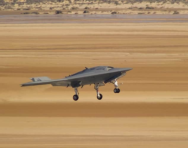 X 47b Unmanned Combat Air System Flights Completed