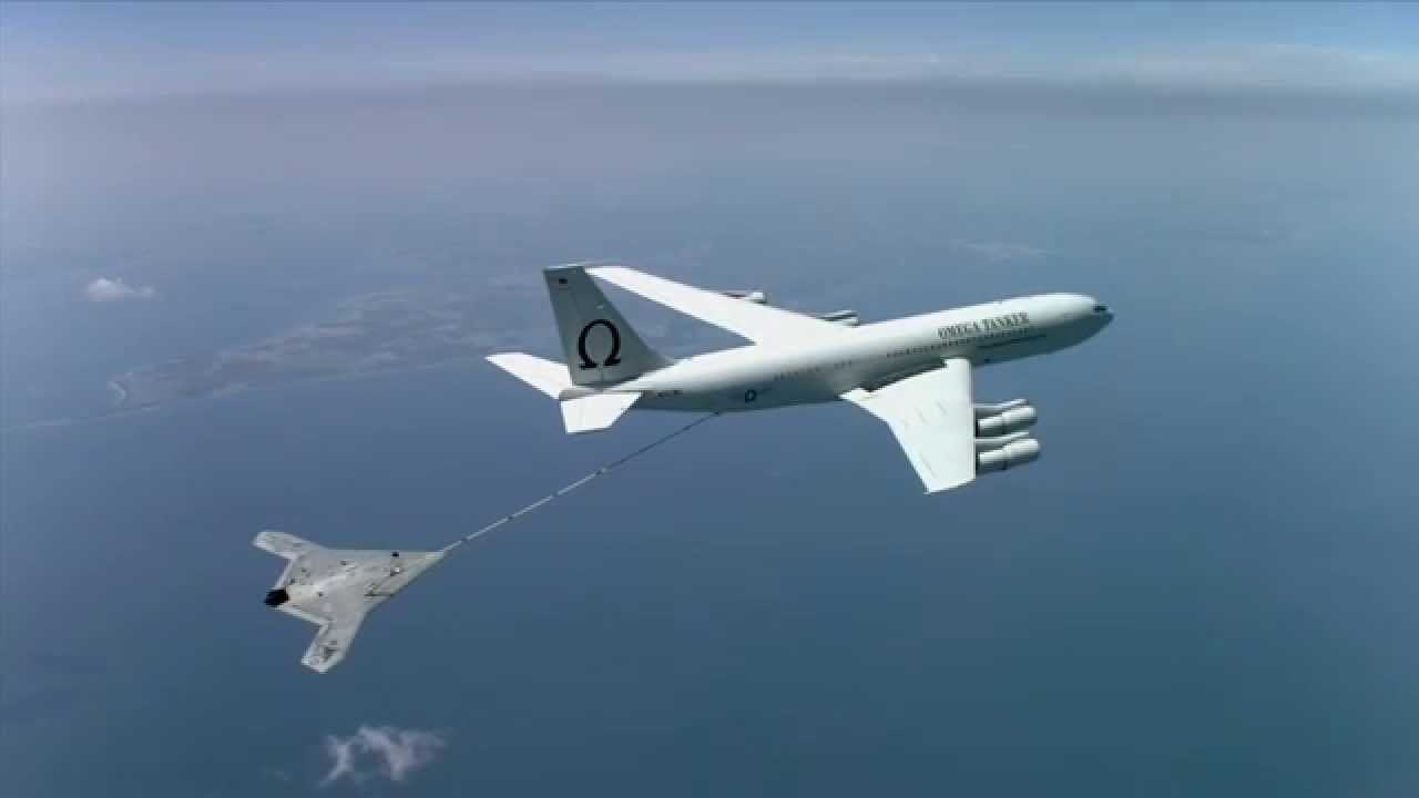 X 47b Completes First Autonomous Aerial Refueling