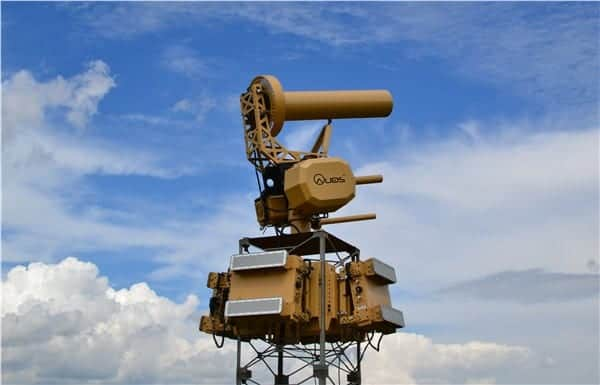 4 solutions keeping unmanned aircrafts from flying where they're not welcome. Spanish Defence Ministry Selects AUDS Counter-UAV System