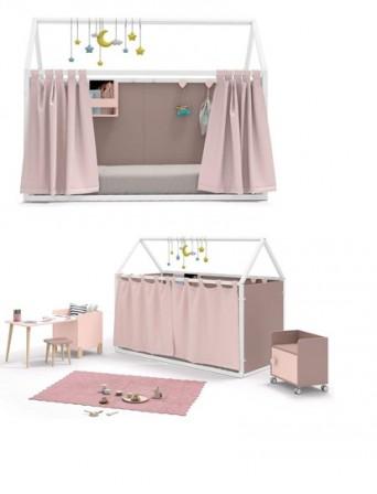lit cabane enfant lit cabane en bois