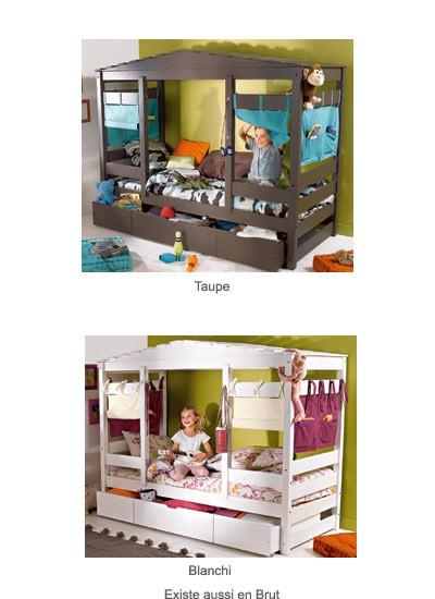 Le lit cabane  une super ide pour dcorer la chambre dun enfant  Dcorer