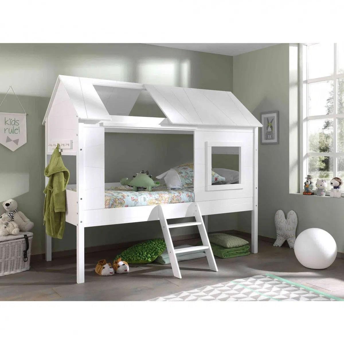 lit cabane pour chambre d enfant idee