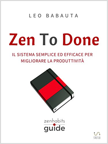 Zen to done, la cover