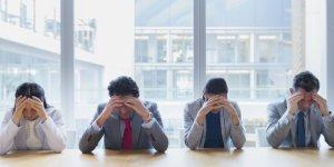 il burnout, stress da lavoro