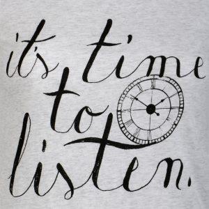 è tempo di ascoltare