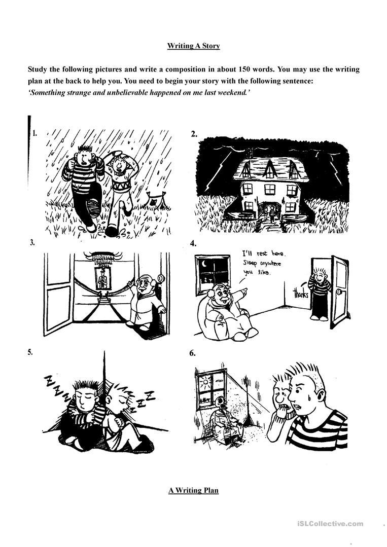 Esl Storytelling Worksheets