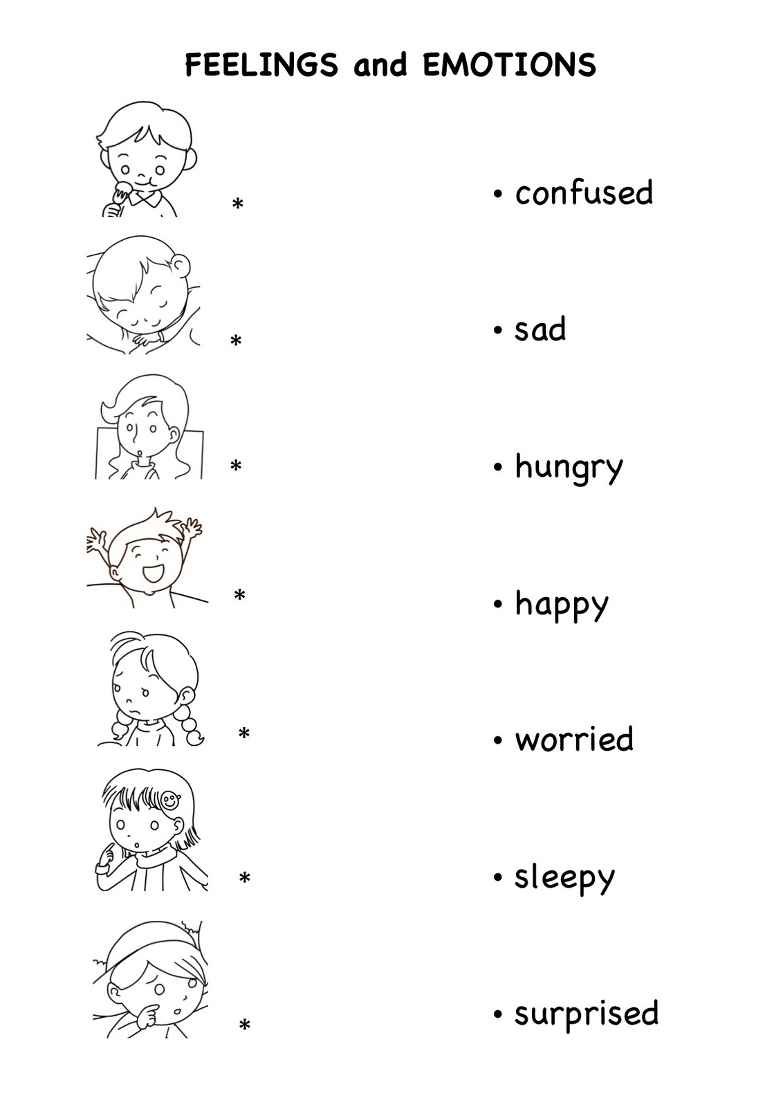Emotion Worksheet Free Worksheets Library Worksheets Samples