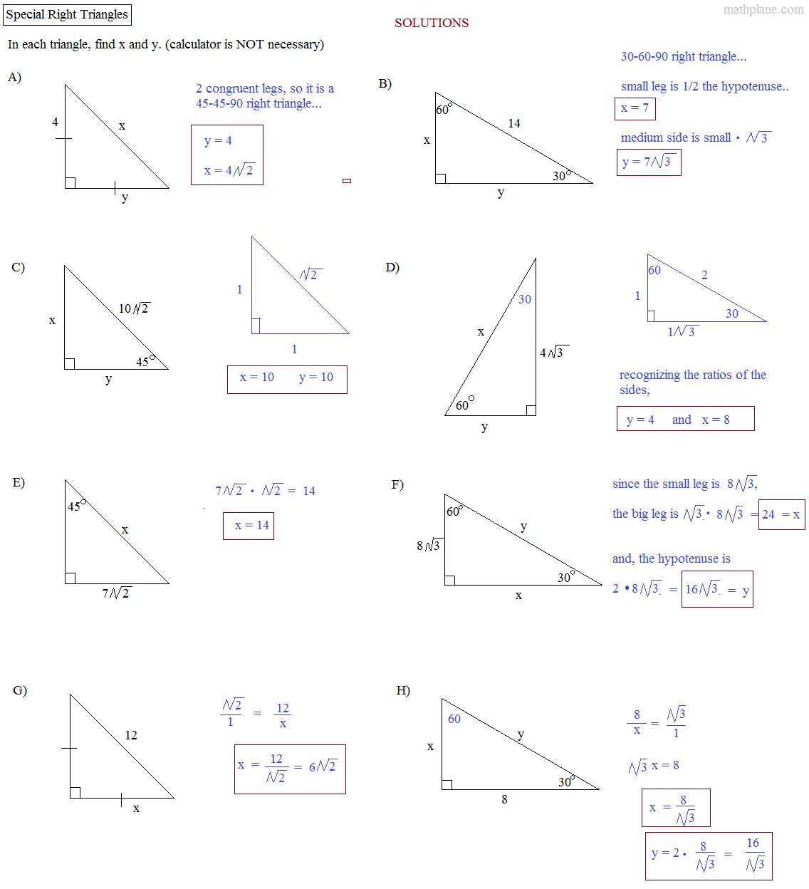 Solving Triangles Worksheet - Saveoaklandlibrary