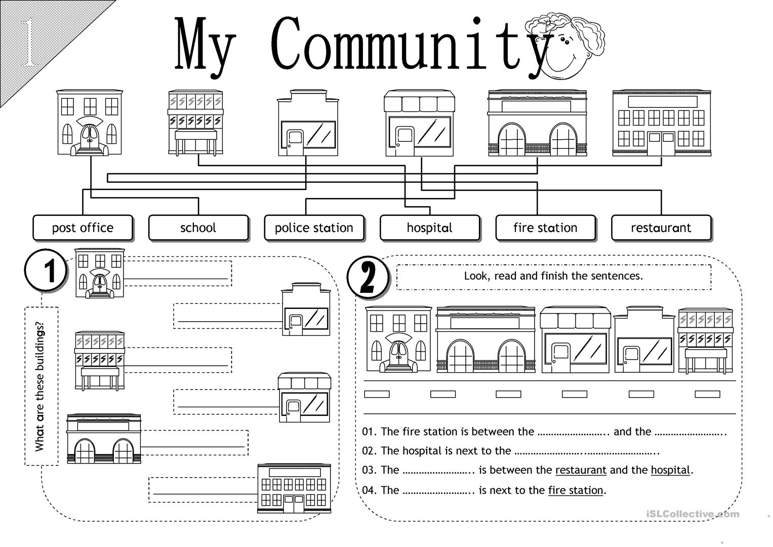 Community Helpers Worksheets 2nd Grade