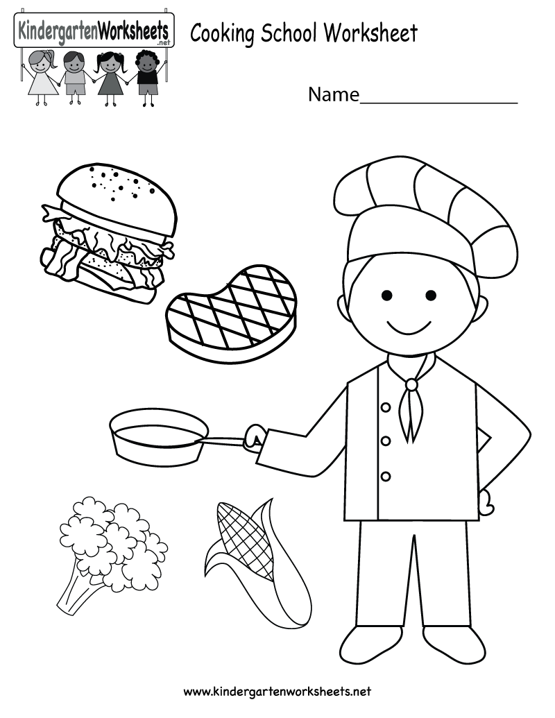 Cooking Math Worksheets