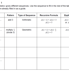 34 Arithmetic And Geometric Sequences Worksheet - Worksheet Resource Plans [ 790 x 1100 Pixel ]