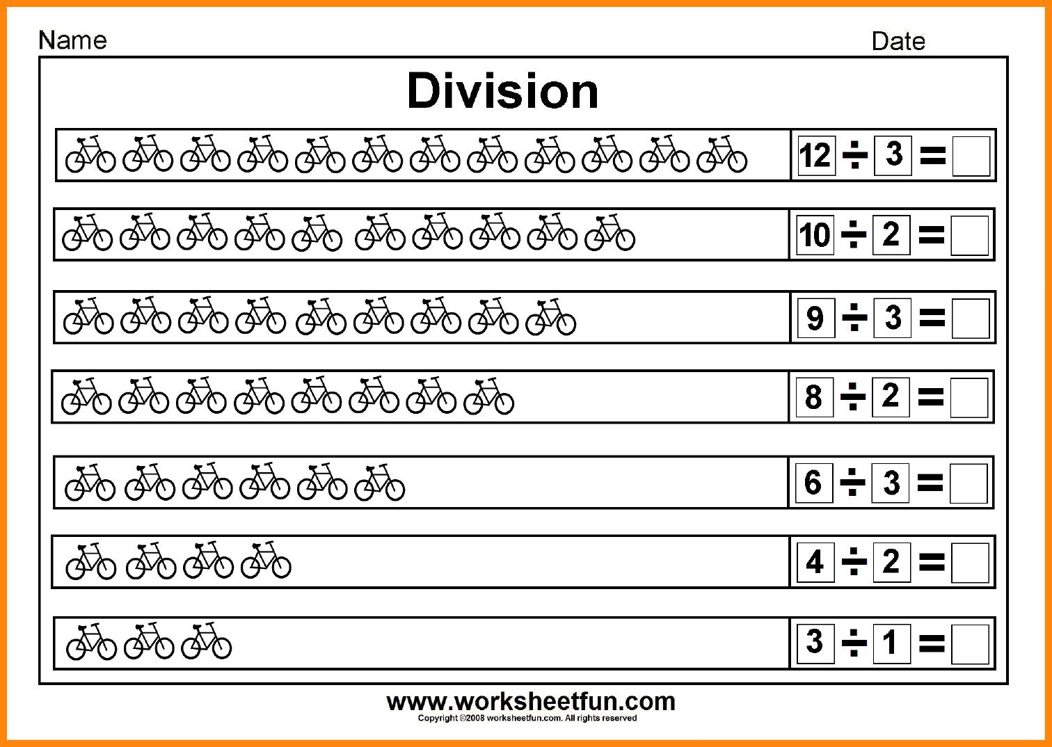 28 Division Worksheets Beginner